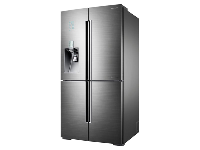Model: RF34H9960S4 | Samsung 34 cu. ft. 4-Door Flex™ Chef Collection Refrigerator, with Sparkling Water Dispenser