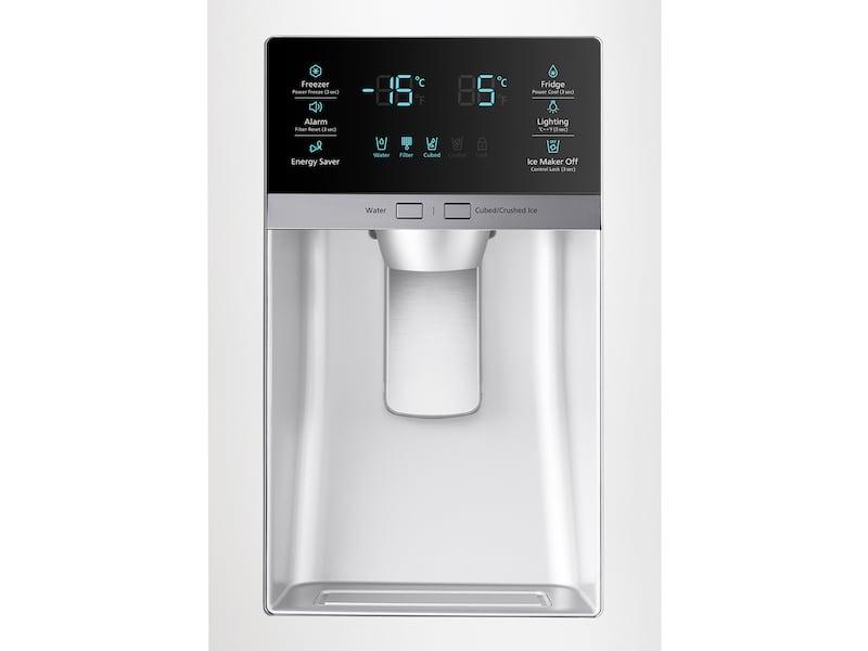 Model: RF28HMEDBWW | Samsung 28 cu. ft. 4-Door French Door Refrigerator