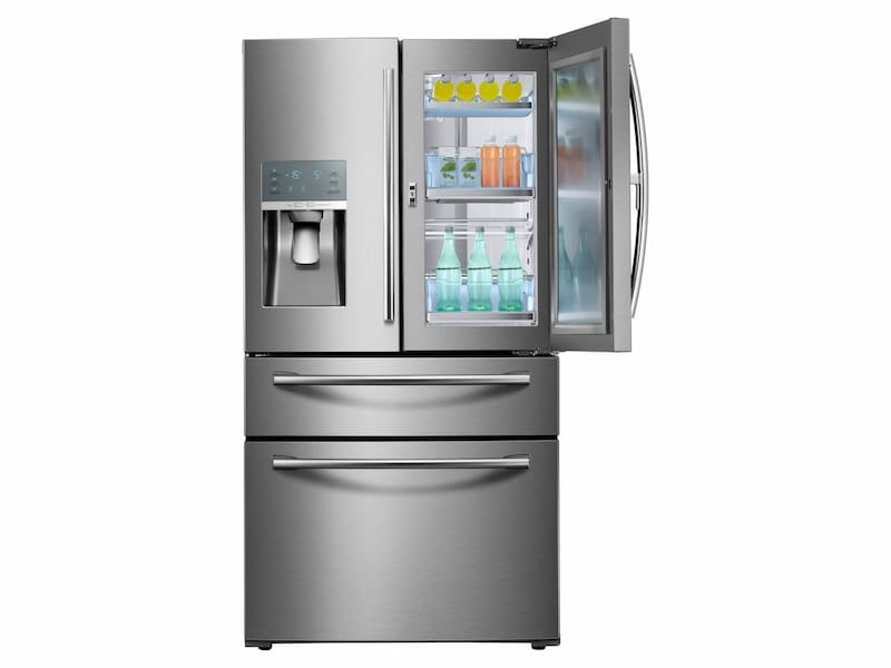 Model: RF28JBEDBSR | 28 cu. ft. 4-Door French Door Food Showcase Refrigerator