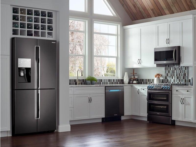 Model: RF28K9070SG | Samsung 28 cu. ft. 4-Door Flex™ Refrigerator with FlexZone™