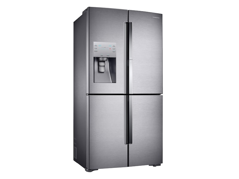 Model: RF22K9381SR | Samsung 22 cu. ft. Counter Depth 4-Door Flex™ Food Showcase Refrigerator with FlexZone™