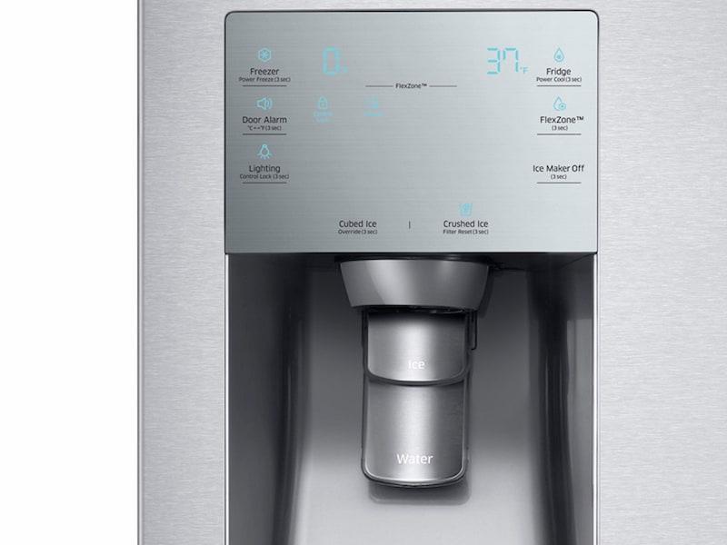 Model: RF28K9380SR | Samsung 28 cu. ft. 4-Door Flex™ Food Showcase Refrigerator with FlexZone™
