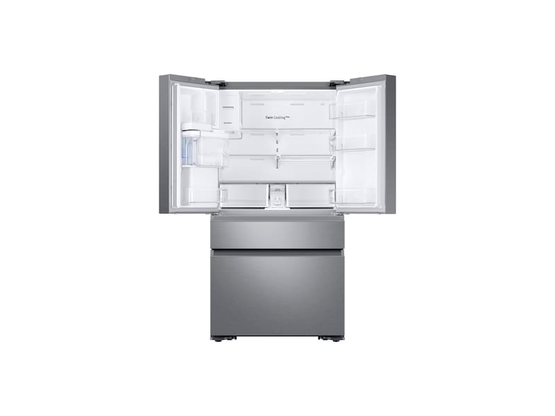 Model: RF23M8570SR | Samsung 22 cu. ft. Capacity Counter Depth 4-Door French Door Refrigerator with Family Hub™ Recessed Handles (2017)