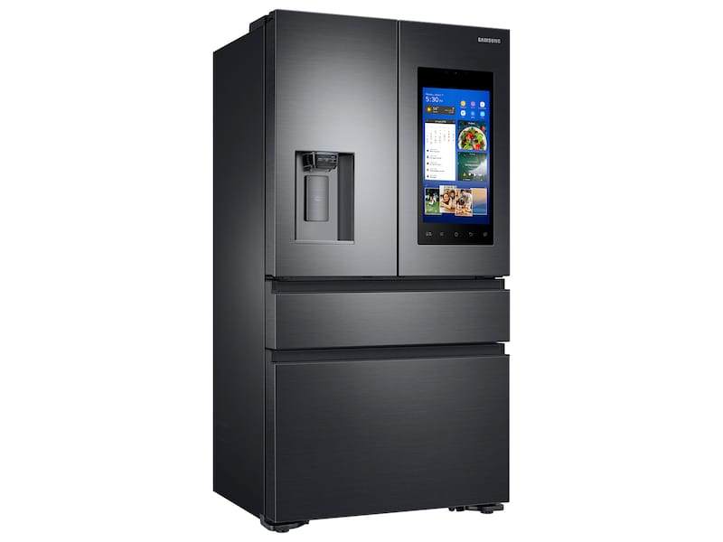 Model: RF23M8570SG | Samsung 22 cu. ft. Capacity Counter Depth 4-Door French Door Refrigerator with Family Hub™ Recessed Handles (2017)