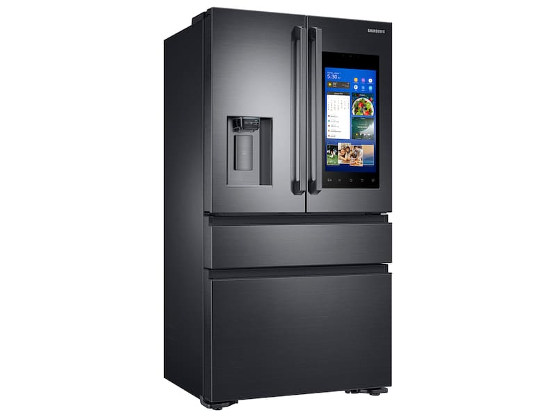 Samsung 22 cu. ft. Capacity Counter Depth 4-Door French Door Refrigerator with Family Hub™(2017)
