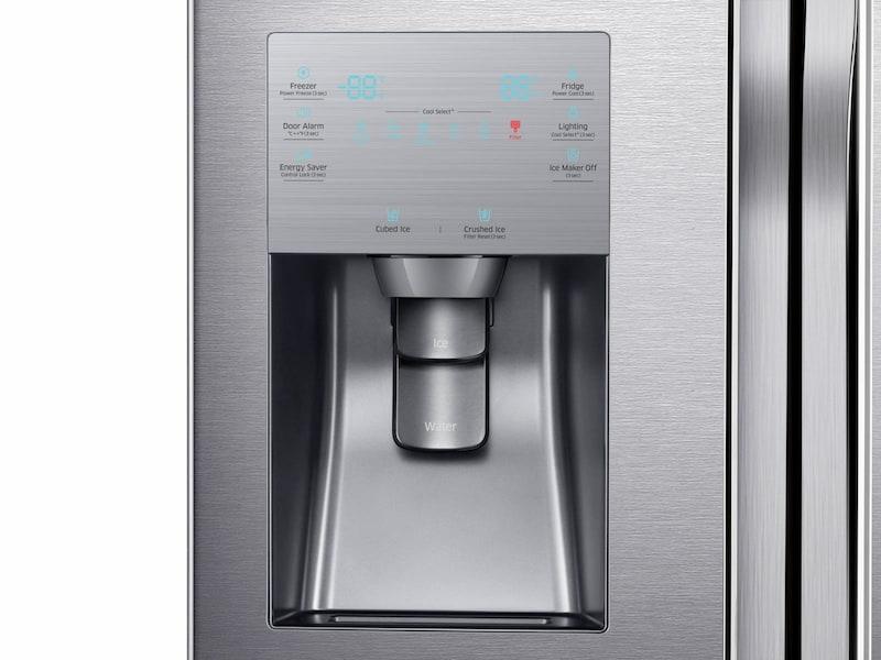 Model: RF23J9011SR | Samsung 23 cu. ft. Counter Depth 4-Door Flex™ Refrigerator with FlexZone™