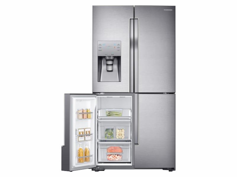 Model: RF23J9011SR | 23 cu. ft. Counter Depth 4-Door Flex™ Refrigerator with FlexZone™