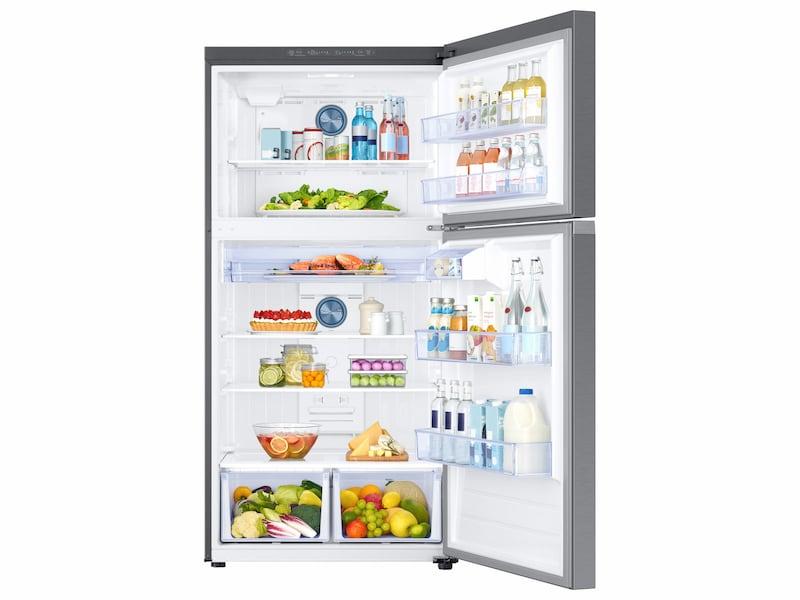 Model: RT21M6213SR | Samsung 21 cu. ft. Capacity Top Freezer Refrigerator with FlexZone™