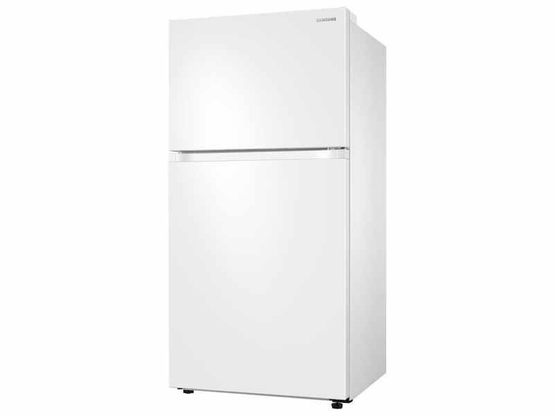 Model: RT21M6215WW | Samsung 21 cu. ft. Capacity Top Freezer Refrigerator with FlexZone™ and Automatic Ice Maker