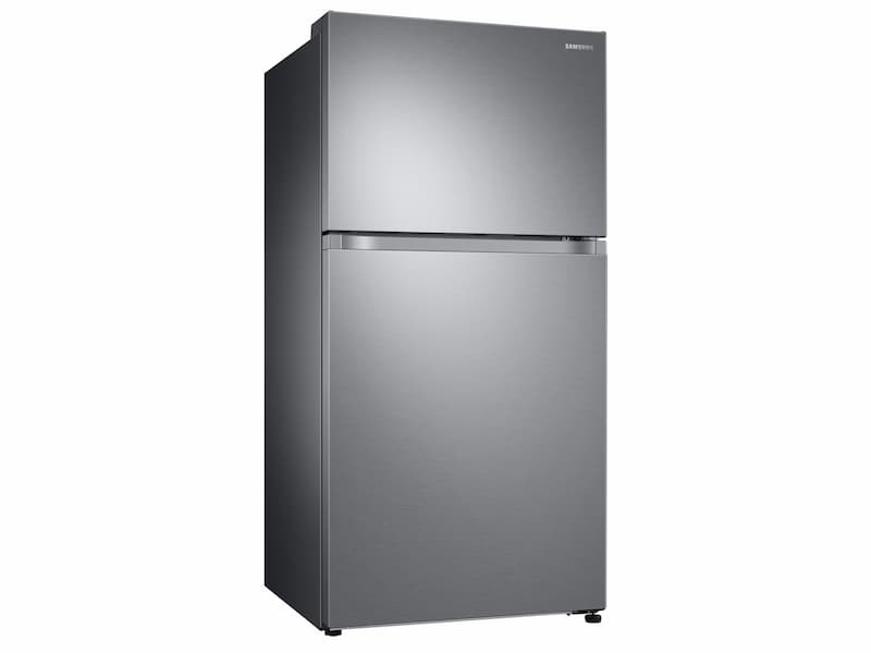 Model: RT21M6215SR | Samsung 21 cu. ft. Capacity Top Freezer Refrigerator with FlexZone™ and Automatic Ice Maker