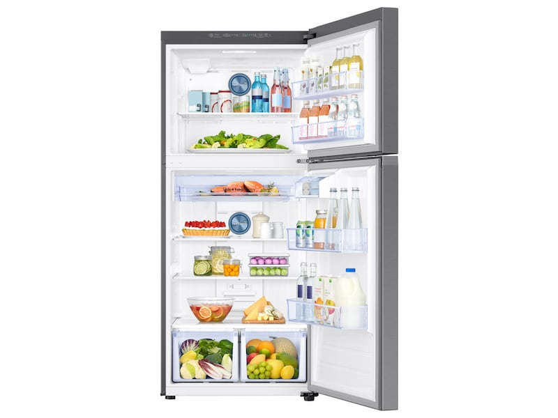 Model: RT18M6213SR | Samsung 18 cu. ft. Capacity Top Freezer Refrigerator with FlexZone™
