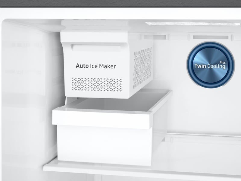 Model: RT18M6215SR | Samsung 18 cu. ft. Capacity Top Freezer Refrigerator with FlexZone™ and Automatic Ice Maker
