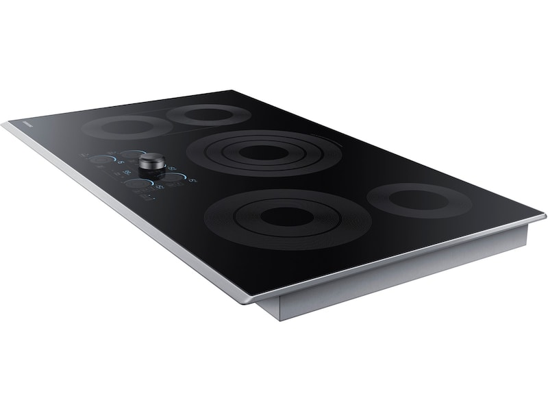 "Samsung 36"" Electric Cooktop with Sync Elements"