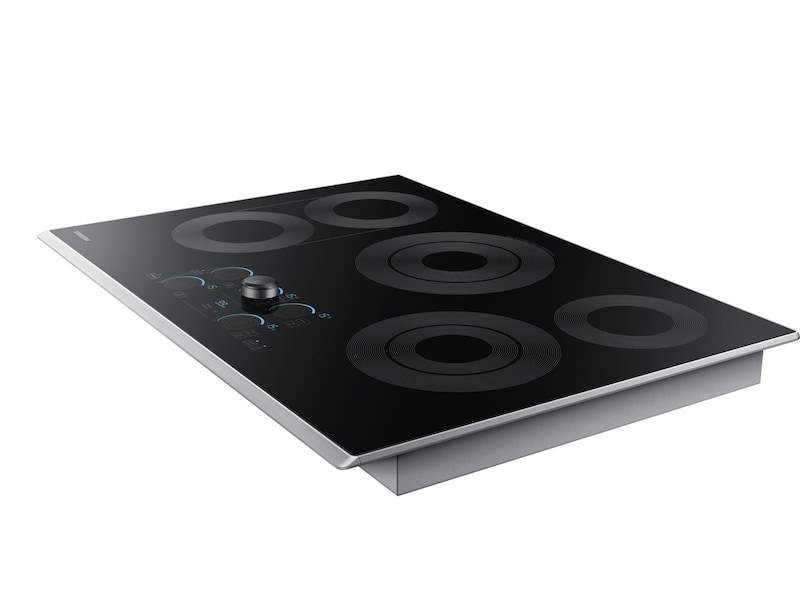 "Samsung 30"" Electric Cooktop with Sync Elements"