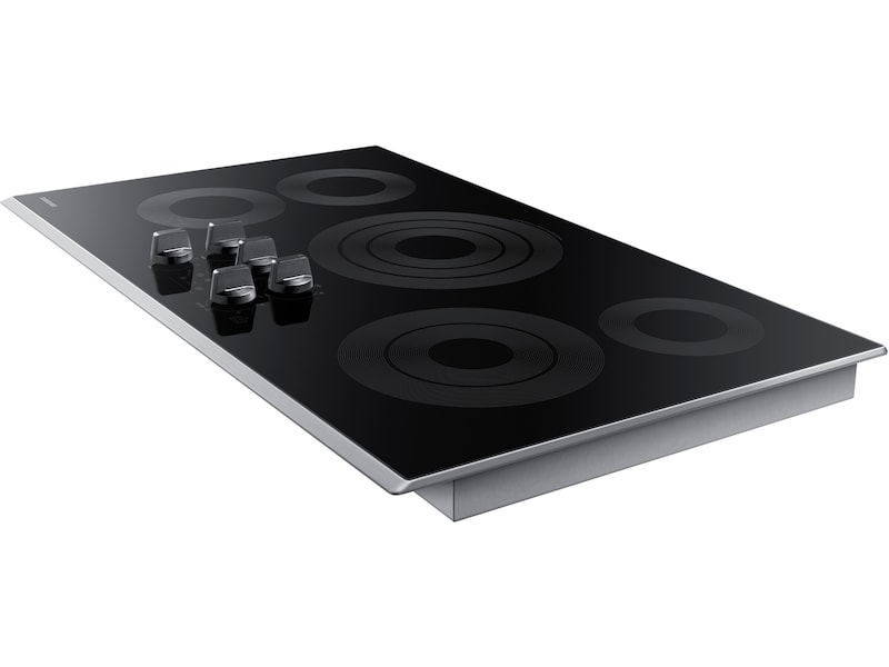 "Model: NZ36K6430RS | Samsung 36"" Electric Cooktop"