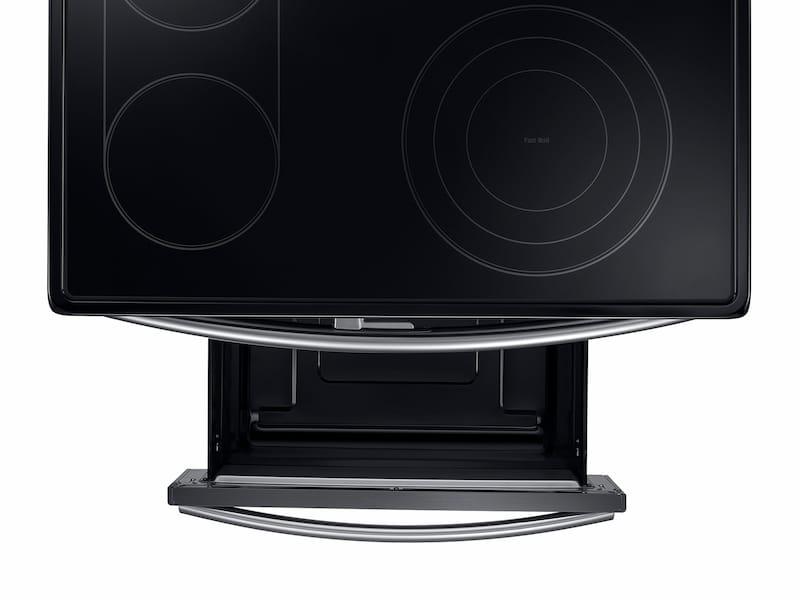 Model: NE59J7850WG   Samsung 5.9 cu. ft. Electric Flex Duo™ Range with Soft Close and Dual Door