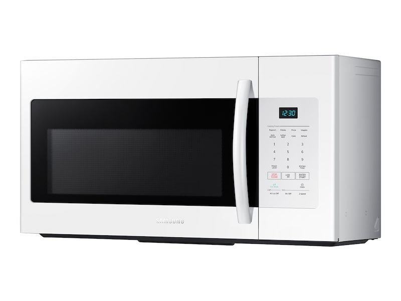 Model: ME16H702SEW | Samsung 1.6 cu. ft. Over The Range Microwave