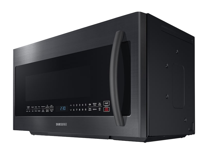 Model: ME21K7010DG | Samsung 2.1 cu. ft. Over The Range Microwave with PowerGrill and Ceramic Enamel Interior