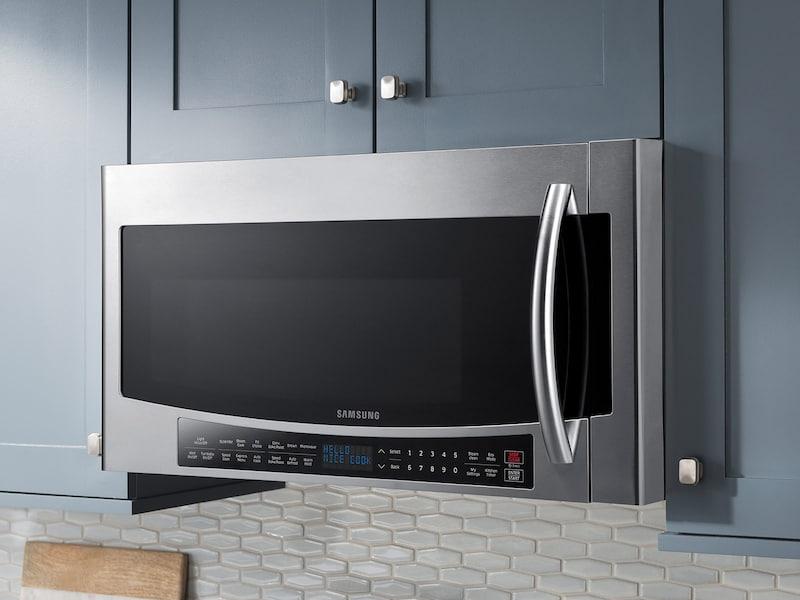 Model: MC17J8000CS | Samsung 1.7 cu. ft. Over The Range Convection Microwave