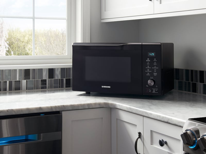 Model: MC11K7035CG | Samsung 1.1 cu.ft Countertop Microwave with Power Convection
