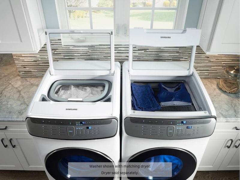 Model: WV60M9900AW | Samsung WV9900 6.0 Total cu. ft. FlexWash™ Washer