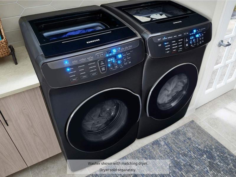 Model: WV55M9600AV | Samsung WV9600 5.5 Total cu. ft. FlexWash™ Washer