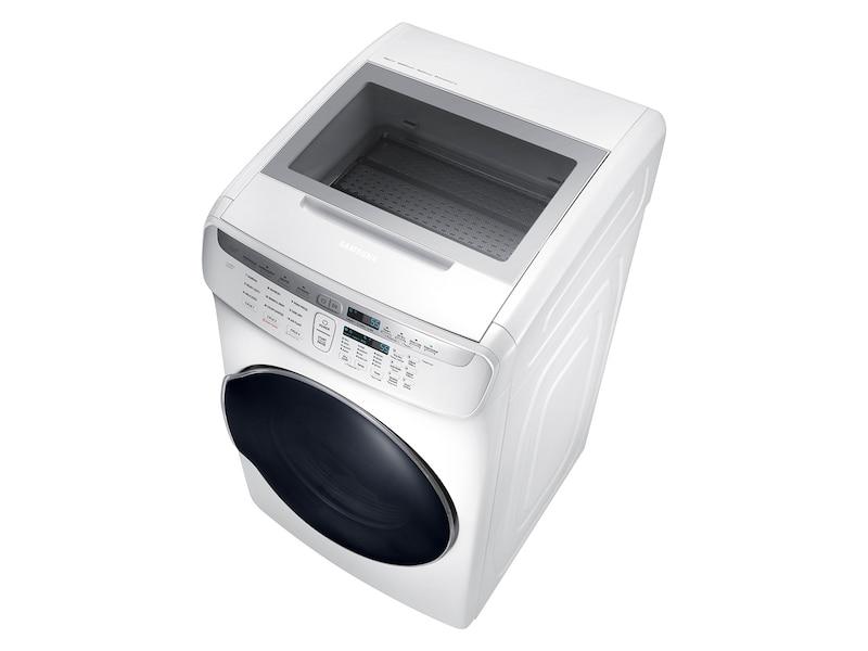 Model: DVG55M9600W | Samsung DV9600 7.5 cu. ft. FlexDry™ Gas Dryer