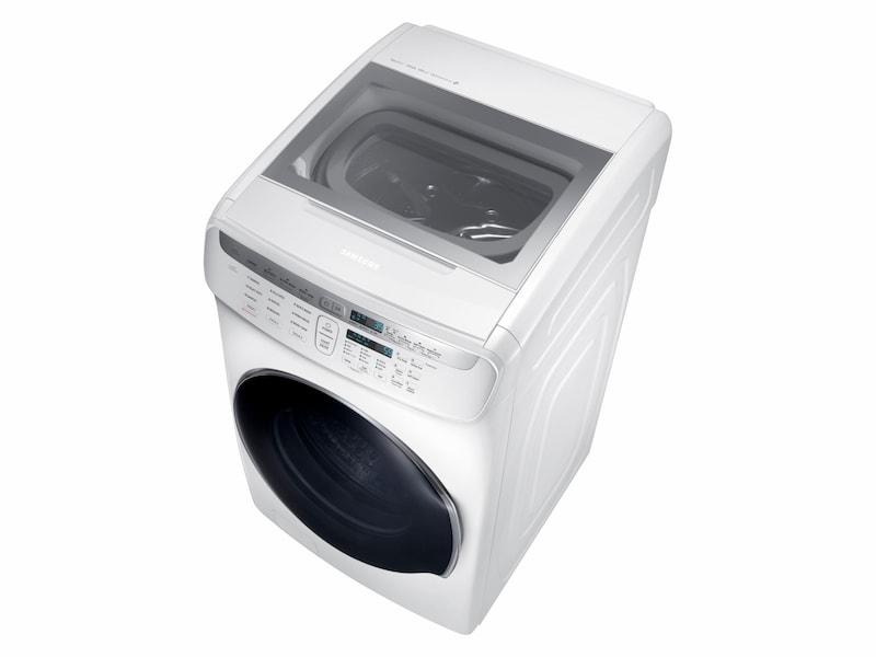 Model: WV55M9600AW | Samsung WV9600 5.5 Total cu. ft. FlexWash™ Washer