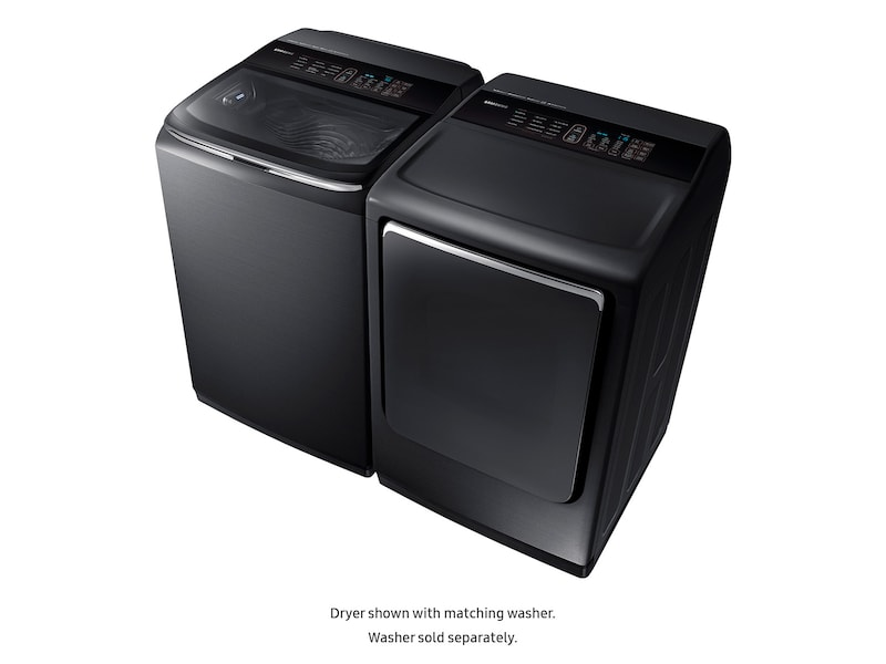 Model: DVE54M8750V | Samsung DV8750 7.4 cu. ft. Electric Dryer with Integrated Touch Controls