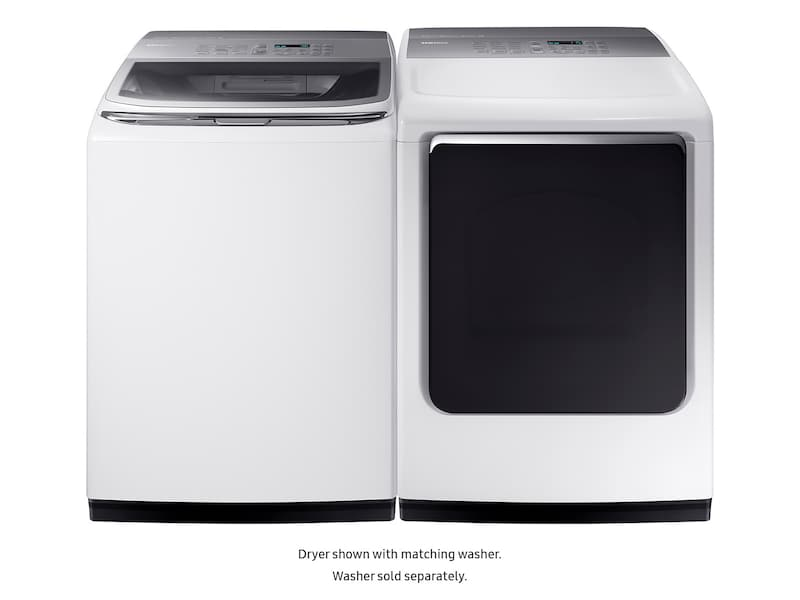 Model: DVE52M8650W | Samsung DV8650 7.4 cu. ft. Electric Dryer with Integrated Controls