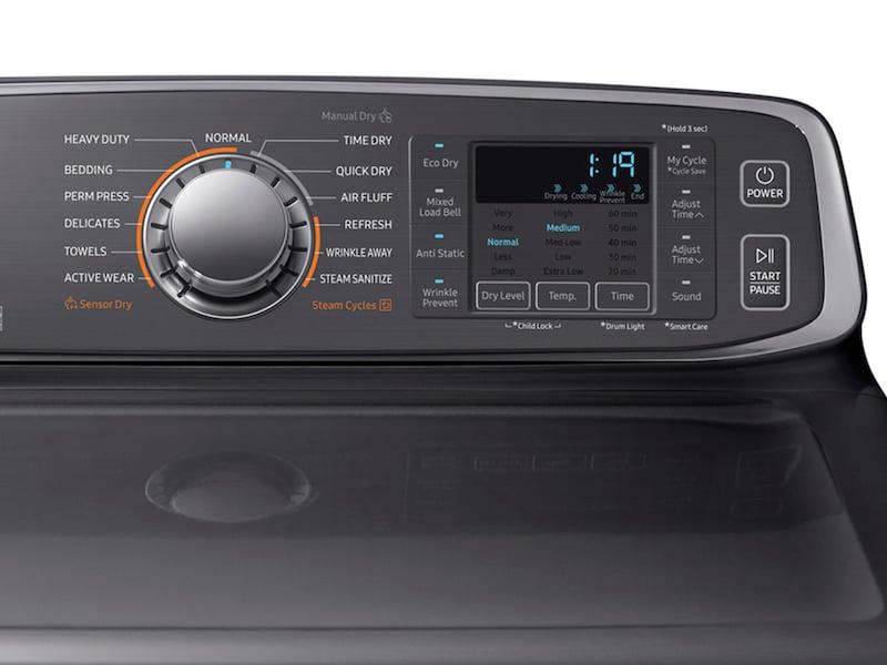 Model: DVG52M7750V | Samsung DV7750 7.4 cu. ft. Gas Dryer