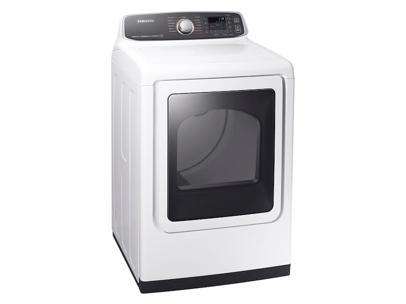 Model: DVG52M7750W | Samsung DV7750 7.4 cu. ft. Gas Dryer