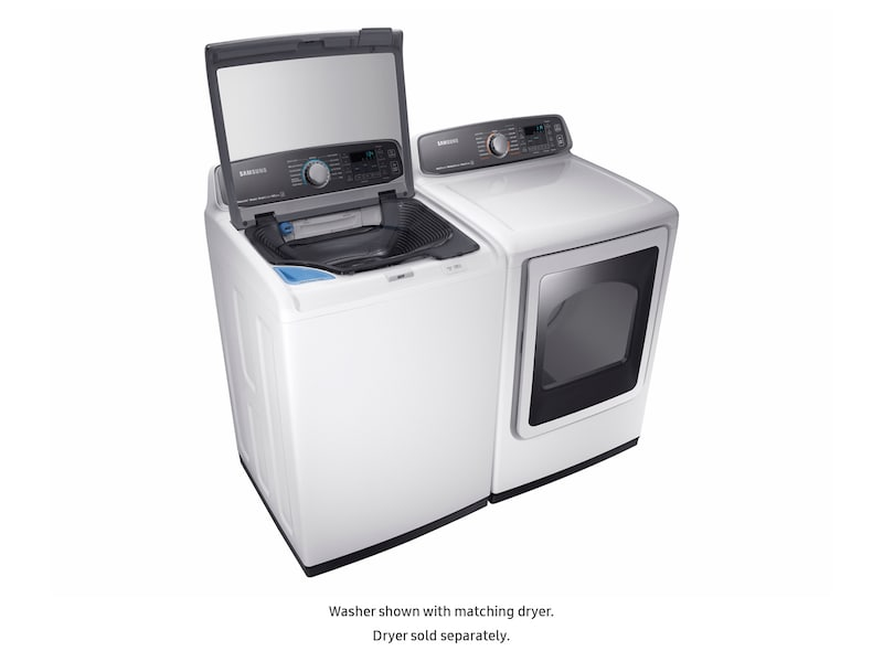 Model: WA52M7750AW | Samsung WA7750 5.2 cu. ft. activewash™ Top Load Washer