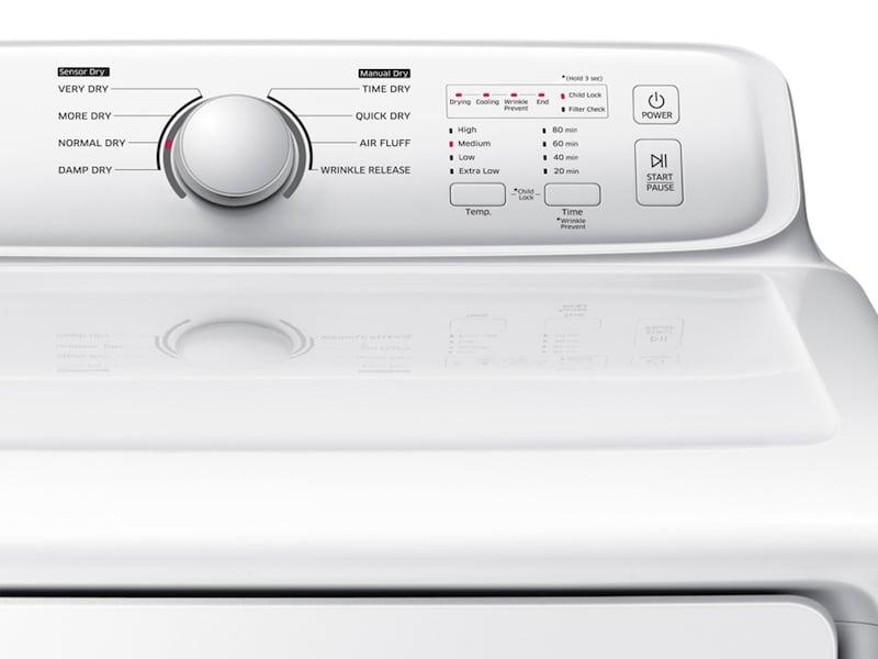 Model: DV40J3000EW | Samsung DV3000 7.2 cu. ft. Electric Dryer with Moisture Sensor