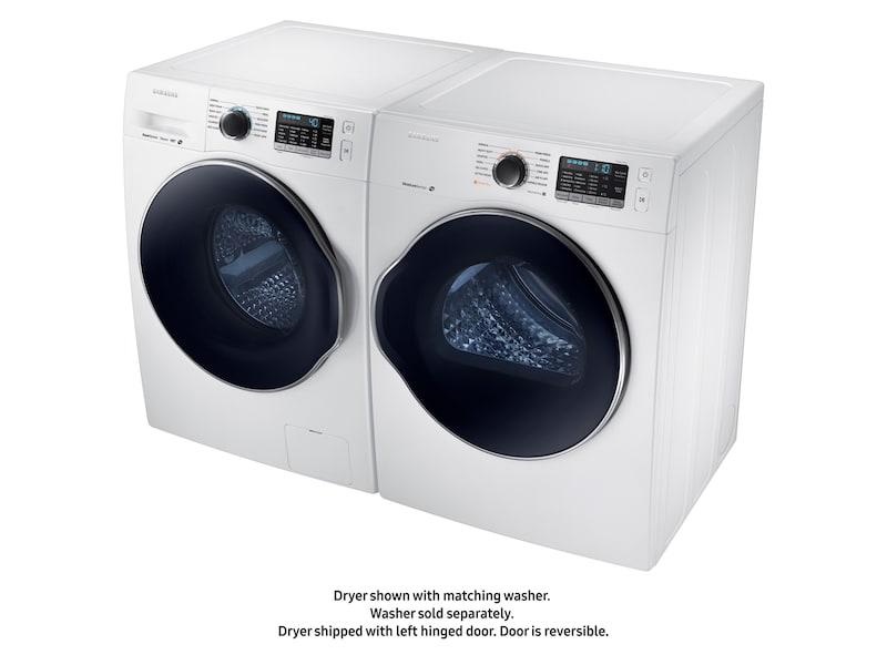 "Model: DV22K6800EW | Samsung DV6800 4.0 cu. ft. 24"" Electric Dryer"