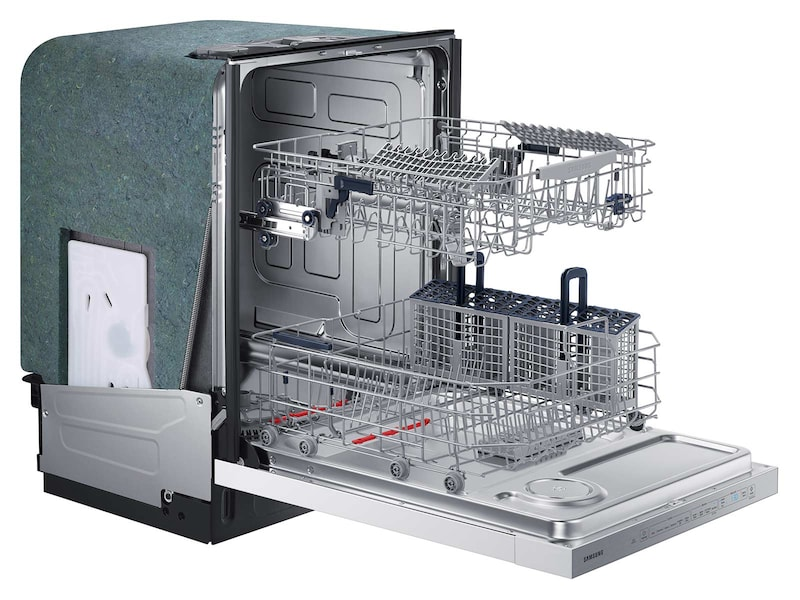 Model: DW80K5050UW | Samsung Top Control Dishwasher with StormWash™