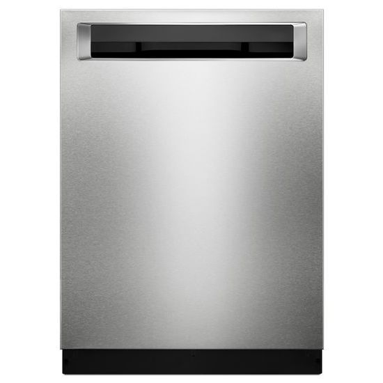 46 DBA Dishwasher with Bottle Wash Option and PrintShield™ Finish, Pocket Handle