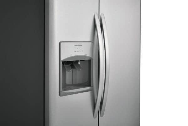 Model: FFSS2615TS | 25.5 Cu. Ft. Side-by-Side Refrigerator