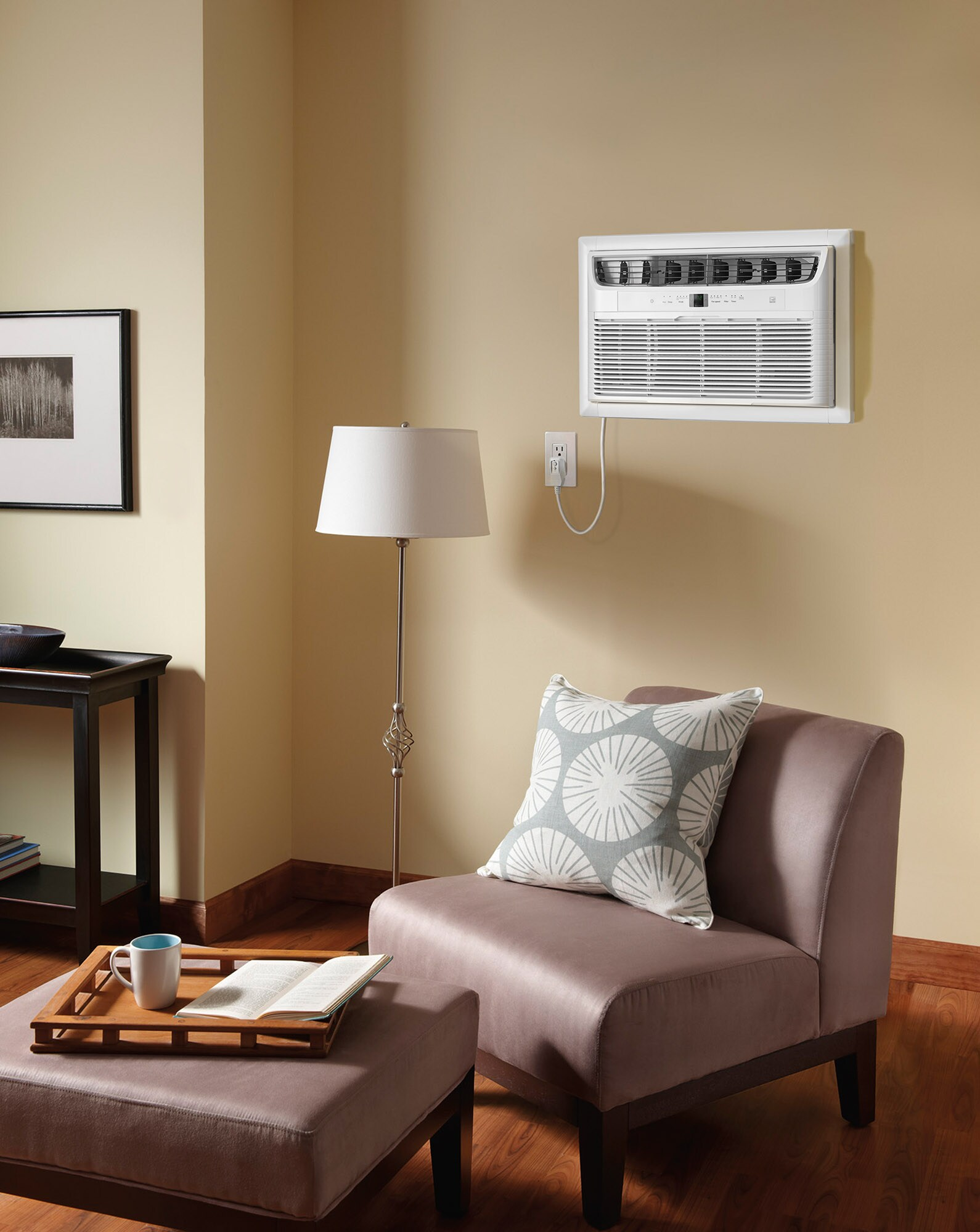 8,000 BTU Built-In Room Air Conditioner- 115V/60Hz