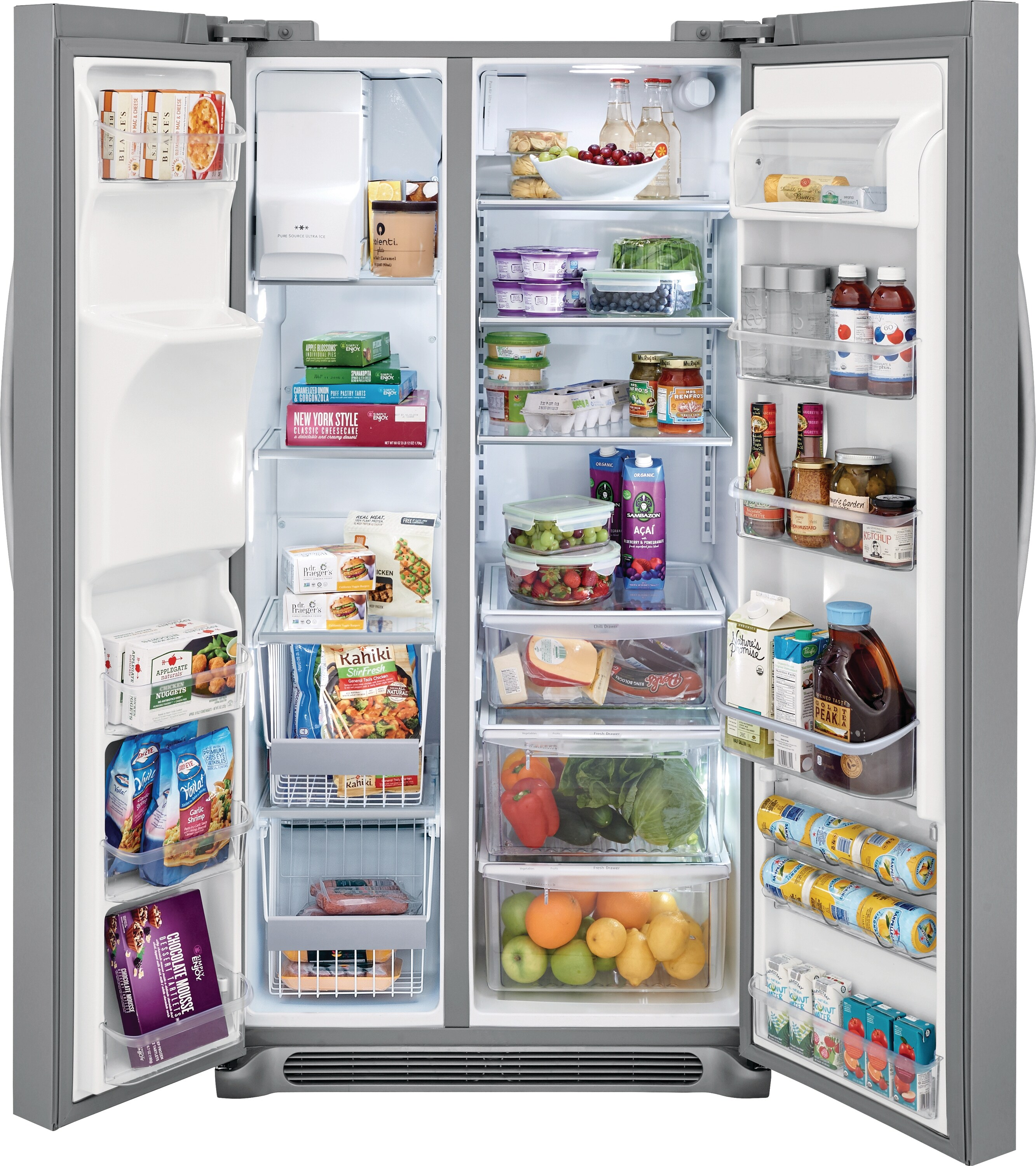 Model: FGSC2335TF | 22.2 Cu. Ft. Counter-Depth Side-by-Side Refrigerator