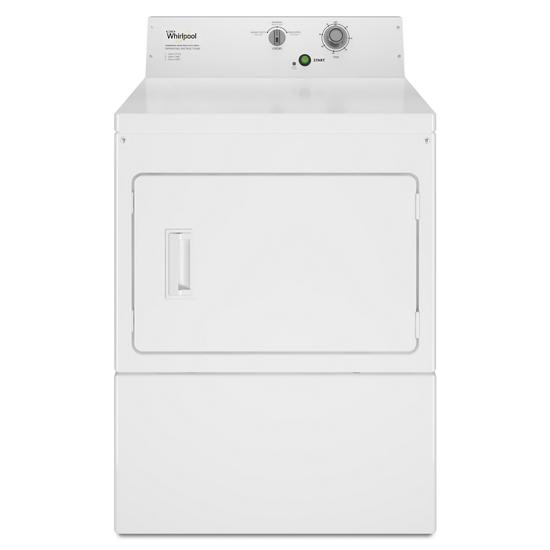 Model: CEM2795JQ | Whirlpool Commercial Electric Super-Capacity Dryer, Non-Coin