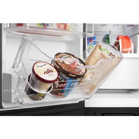 Model: MSS25C4MGK   Maytag 36-Inch Wide Side-by-Side Refrigerator with Exterior Ice and Water Dispenser - 25 Cu. Ft.