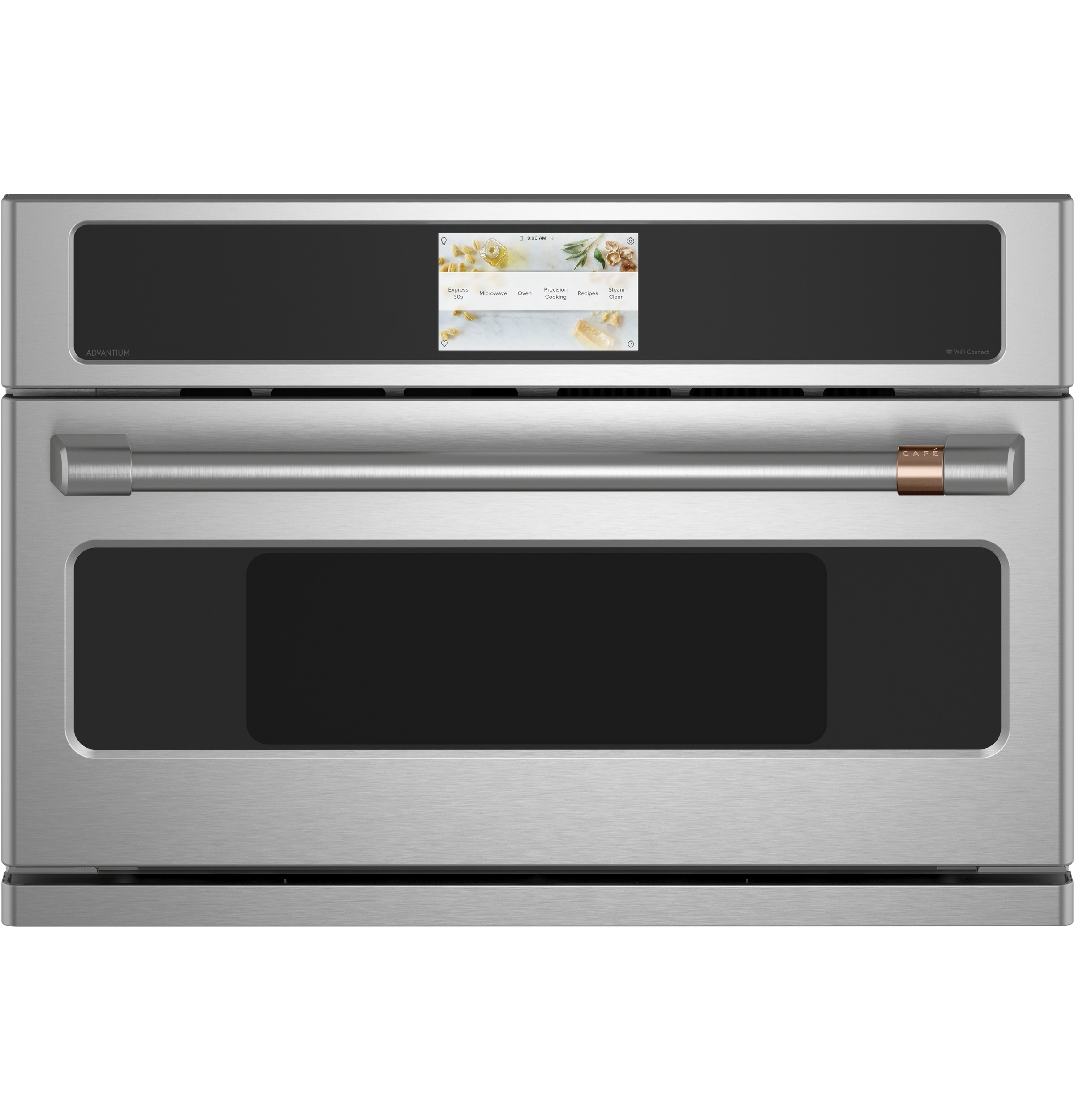 "Cafe Café™ 30"" Smart Five in One Oven with 120V Advantium® Technology"