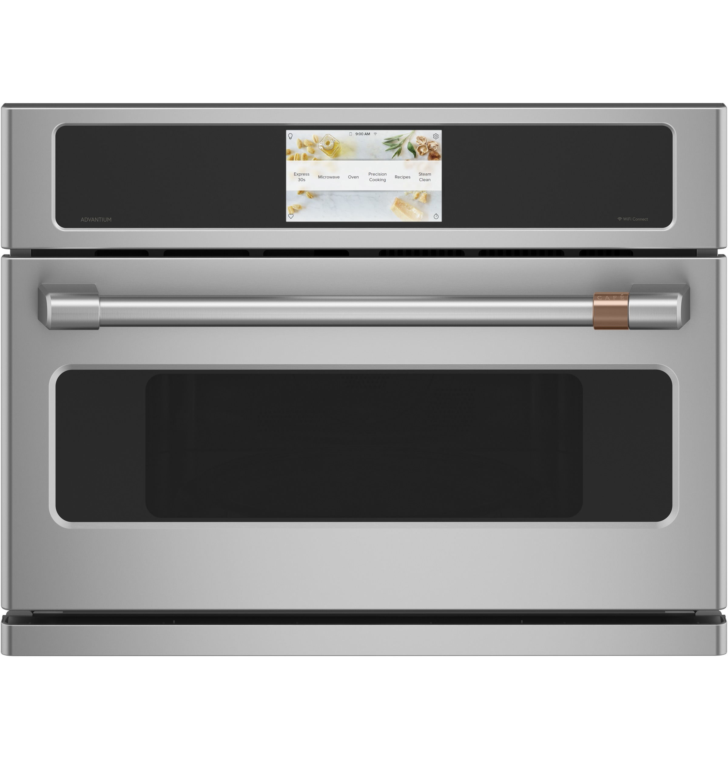 "Cafe Café™ 27"" Smart Five in One Oven with 120V Advantium® Technology"
