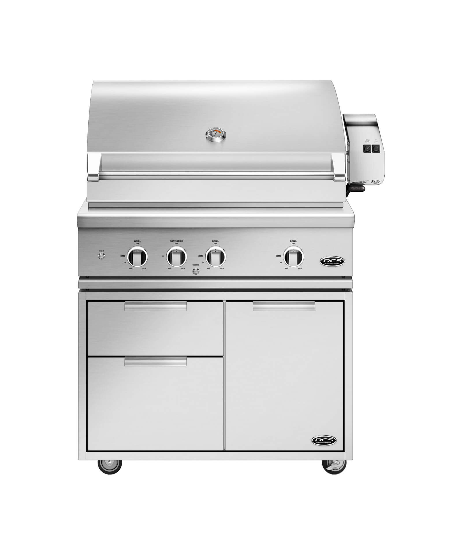 "36"" Grill Series 9, Rotisserie and Charcoal"