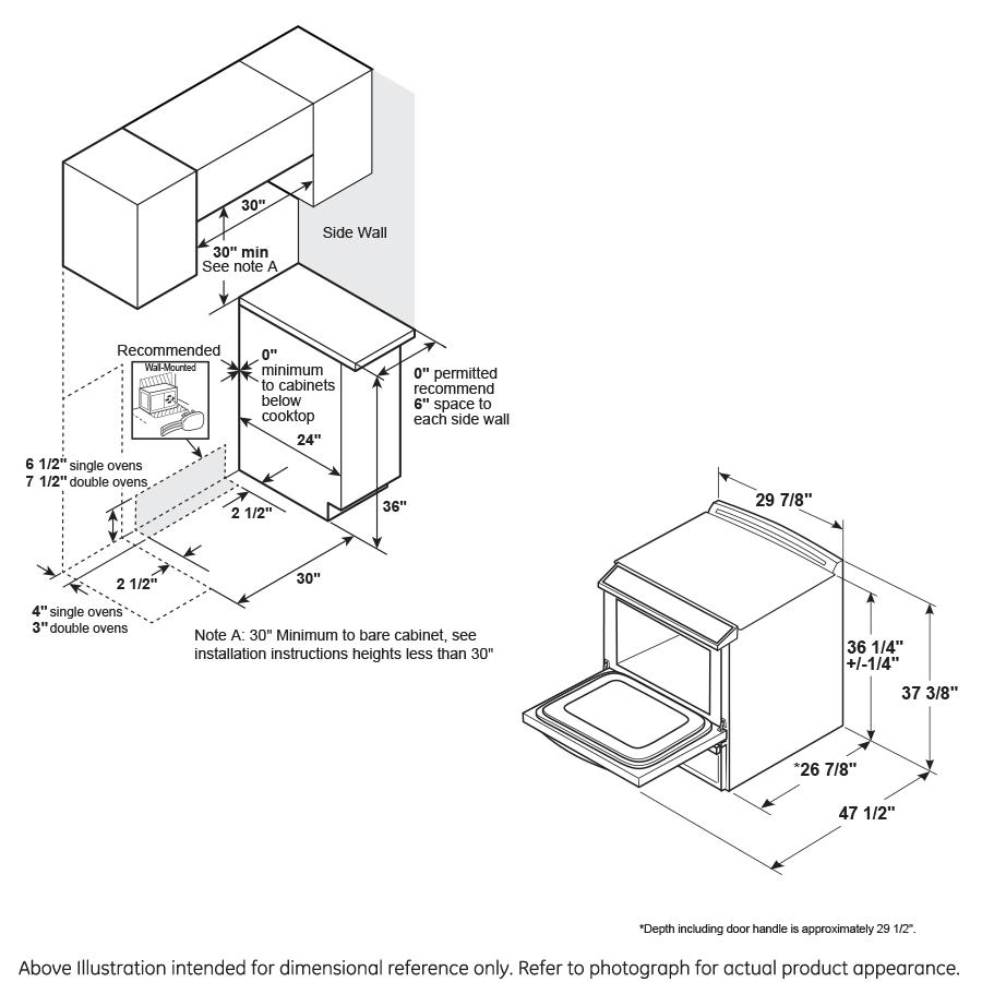 "Model: CES700P4MW2 | Cafe Café™ 30"" Smart Slide-In, Front-Control, Radiant and Convection Range"