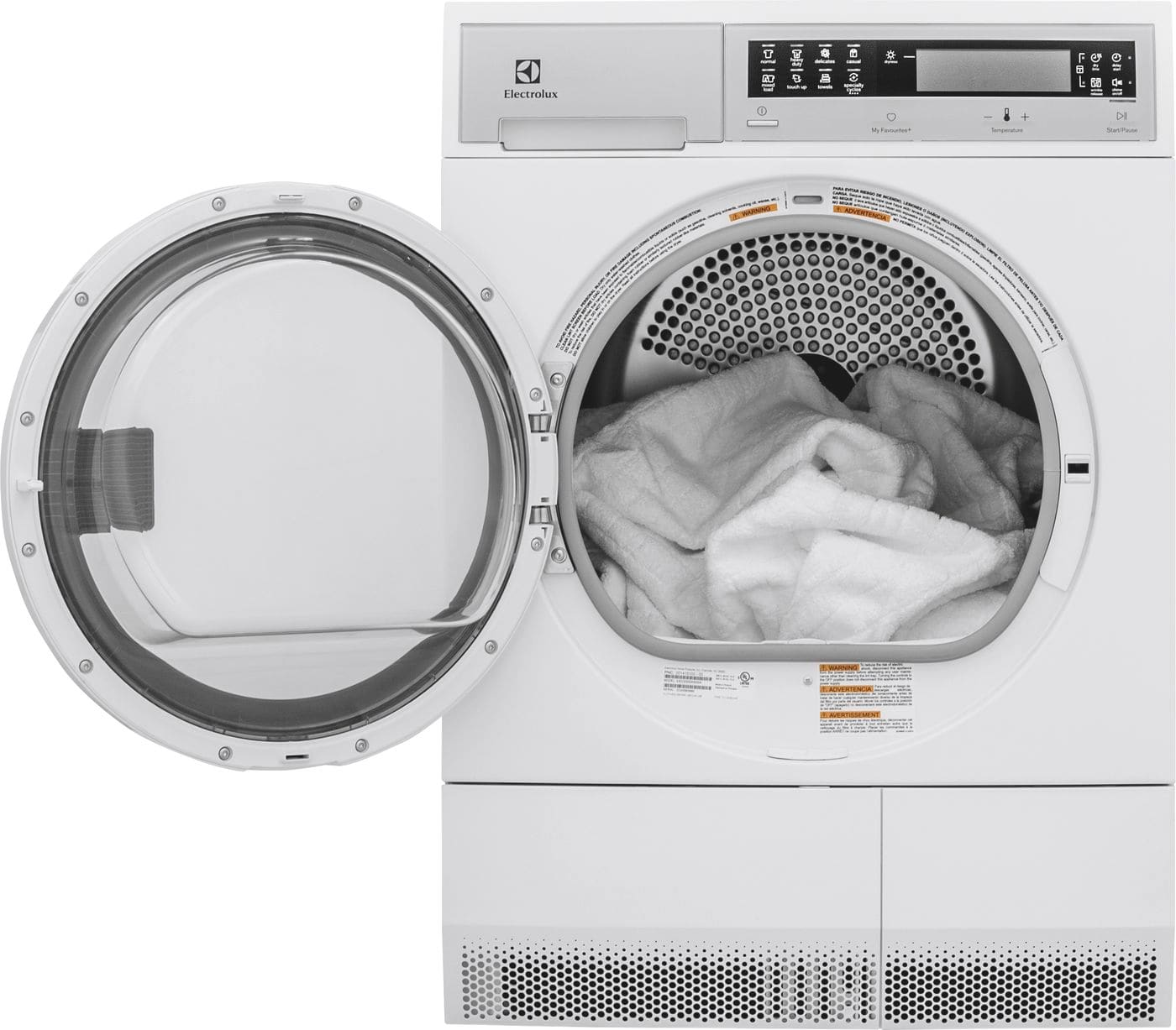 Model: EFDE210TIW | Electrolux Front Load Compact Dryer with IQ-Touch® Controls - 4.0 Cu. Ft.