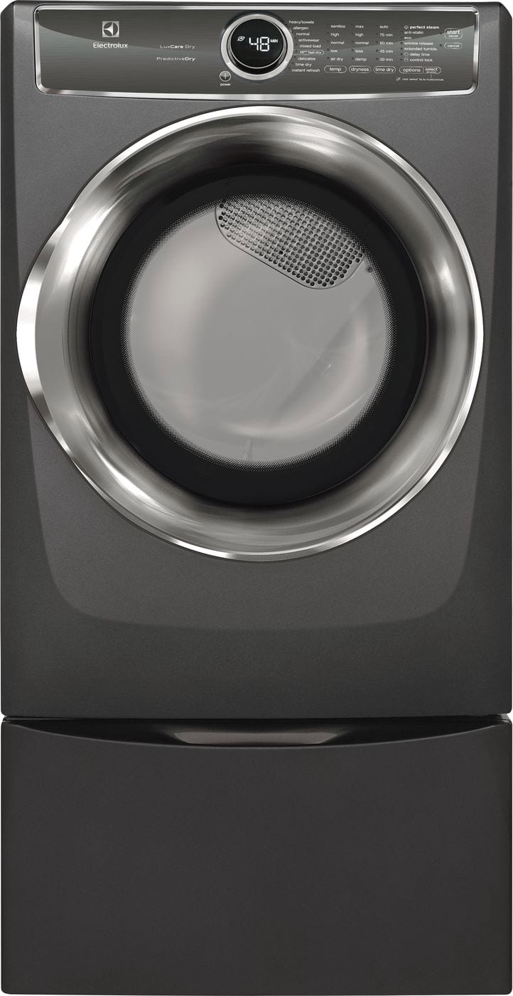 Front Load Perfect Steam™ Electric Dryer with PredictiveDry™ and Instant Refresh - 8.0. Cu. Ft.