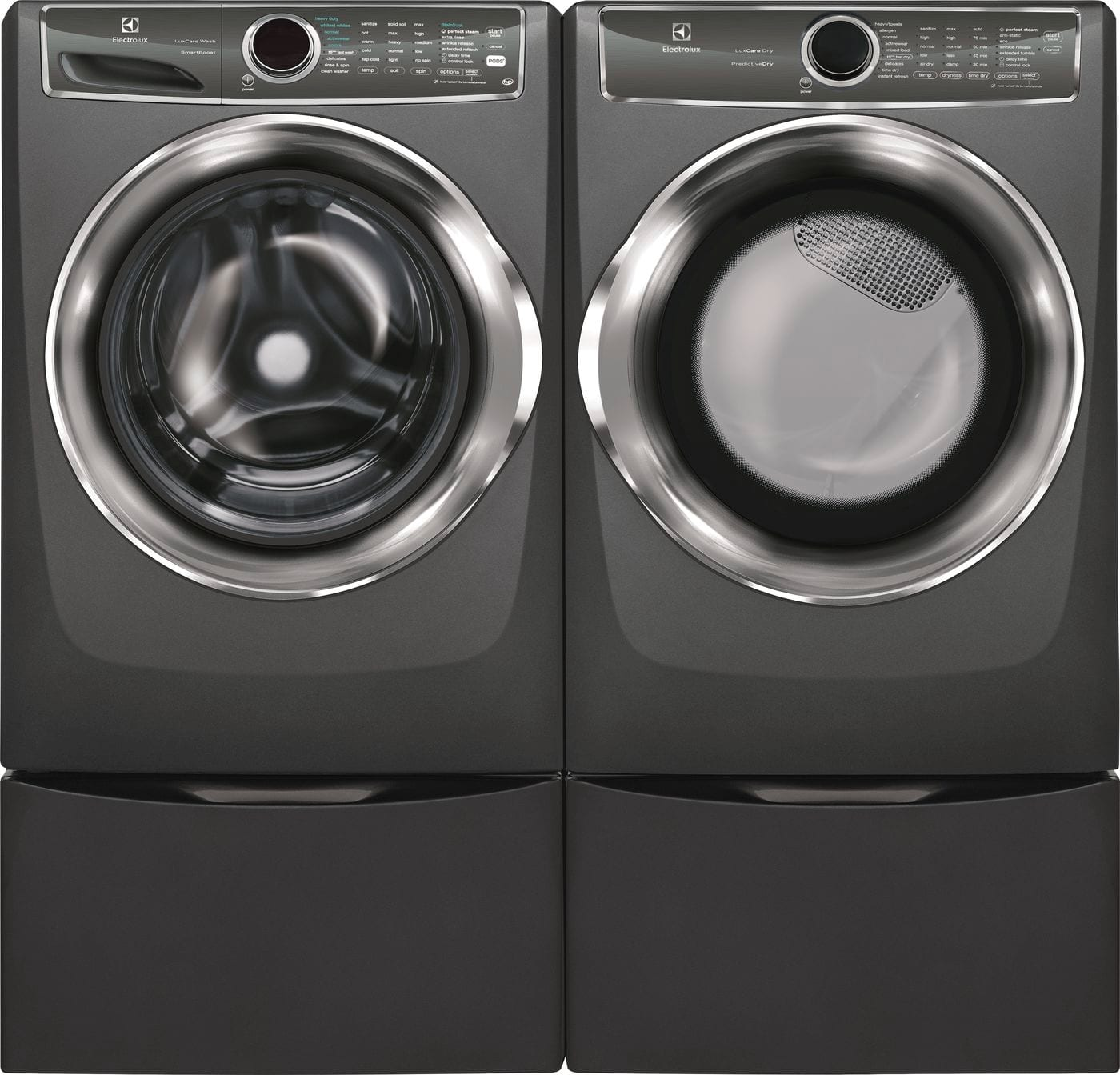 Model: EFME627UTT | Front Load Perfect Steam™ Electric Dryer with PredictiveDry™ and Instant Refresh - 8.0. Cu. Ft.