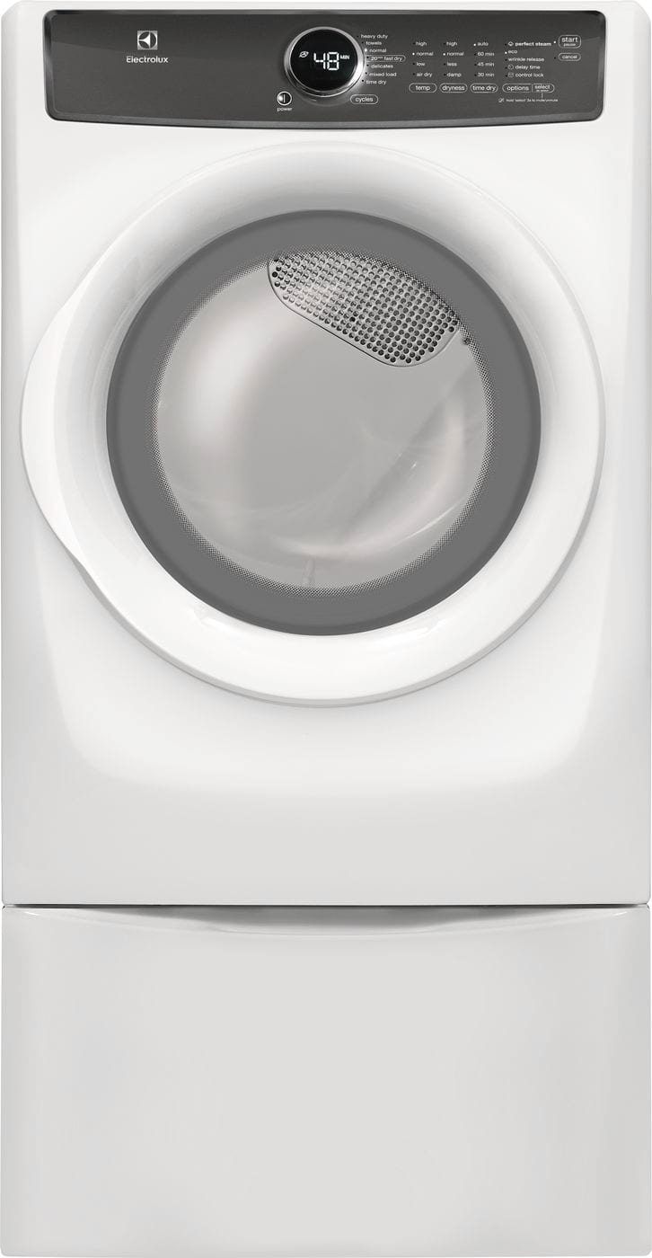 Model: EFMG427UIW | Electrolux Front Load Perfect Steam™ Gas Dryer with 7 cycles - 8.0 Cu. Ft.